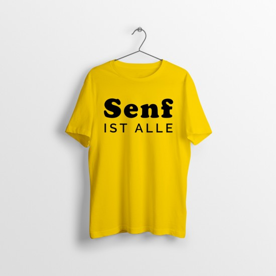Funny sayings T-shirt - MUSTARD IS OUT