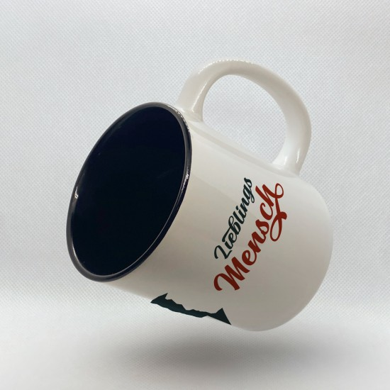 Funny mug printed with motif Favorite Human