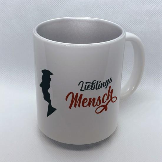 Funny mug printed with motif Favorite Human